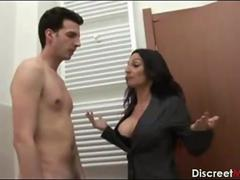 Italian Horny Brunette Mother