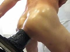 Huge dildos session Part I