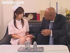 Japanese Girl And Black Guy - Interracial