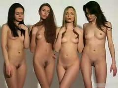 4 GIRLS DANCE NUDE
