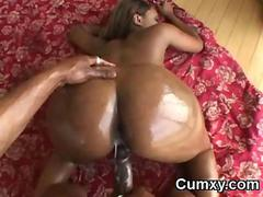 Big Phat Ass Black Butt Hoe Pounded With Black Cock