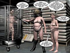 3D Comic: Carnal Clinic 3