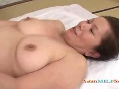Fat mature woman getting her hairy pussy fucked feature