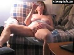 the hidden cam gets a footage of her wanking hard