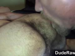 Bears hairy ass rimmed