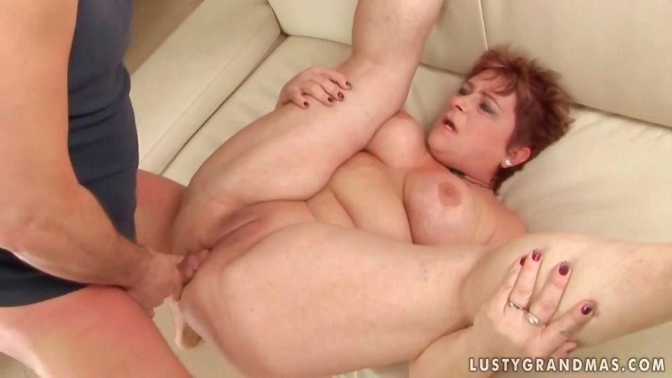 Fat and busty pervert gagging cocks and gang banged 2