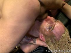 Lexi Jaxson deepthroating convicts cocks
