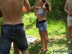 College orgyteens anal outdoor cumfest party
