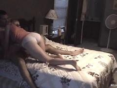 Father fucking his girl in homemade sextape