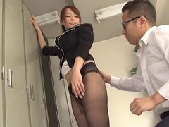 tight skirt woman teacher eri ishikawa video