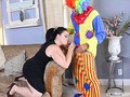 Scary Clown Stalks Sexy Big Tit BBW Charlotte