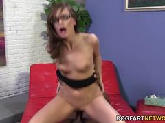 Petite Lily Carter Squirts on BBC