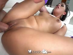 Exotic4k Big booty latina Sophia Leone dripping wet pussy fucked and facial