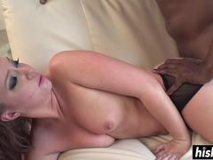 Black cock anally for Maddy OReilly