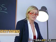 Brazzers - Big Tits at School - Big Tits In History Part 3 scene starring Ashley Downs Emma Leigh