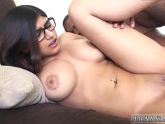 Muslim cock french Mia Khalifa Tries A Big Black Dick