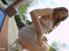 Taissia Shanti presented in rough anal scene gonzo style by Ass Traffic