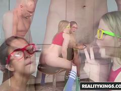 RealityKings - Teens Love Huge Cocks - Jmac Lexxxus Adams Vannessa Phoenix - Nerdy Gamer Hotties