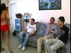 French housewife Maeva gangbanged