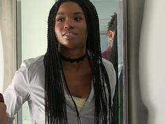EBONY BABE MYA MAYS COMES CLEAN AND FUCK STEP BROTHER
