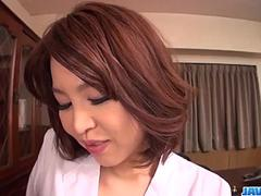 Erika Nishino likes to pose nasty and fuck like sluts