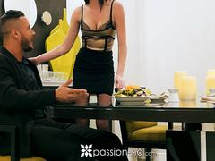 PASSION-HD Spontaneous dinner fuck for Jessica Rex