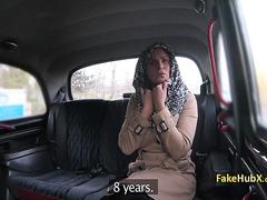 Taxi driver bangs angry milf