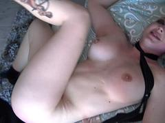 Leya Falcon roughly ass fucked and gagged by Pascal White