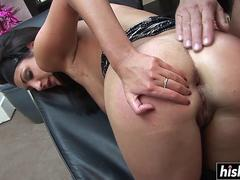 Wife seduces an older guy for anal