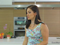 Hot brunette Milf tribbing housekeeper