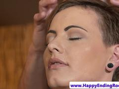 massage loving beauty squirted with warm cum video