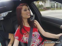 Fucking gf after nude drive through