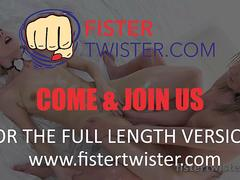 Fistertwister - Oiled Up And Fisted - Brutal Fisting