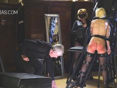 Master is disappointed in her little slave