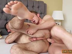 muscle gay anal sex and cumshot clip film 2