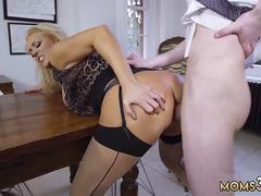 Milf creampie and bosss pal fucks mom explicit Having Her Way With A Rookie
