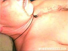 Mature Amateur Rob Beating Off