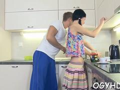 lustful old guy fucks angel feature clip 2