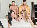 DaughterSwap - Sexy Teen Daughters Fucked Next To Tired Mothers