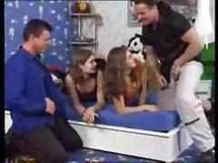 German Teen Group Anal