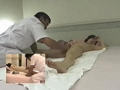 Japanese massage room hidden cam feature