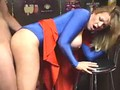 Supergirl has big tits and takes his cock