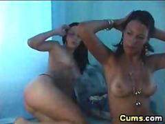 Barbie twins love eating pussy and give a nasty show