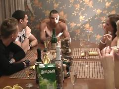 Corporate group orgy in a sauna movie 4
