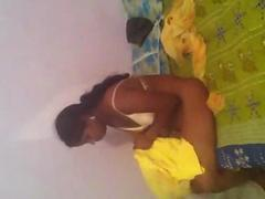 Indian 22 yo Jalander girl Saali removing dress before fuck