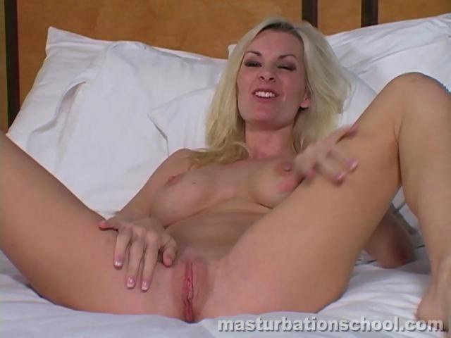 Blonde Jerk Off Instruction
