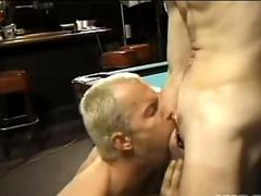 Sex on the billard table
