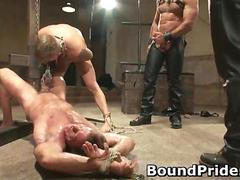 Super extreme BDSM gay hardcore
