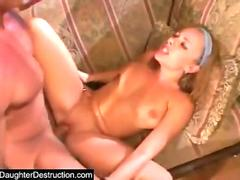 Very beautiful babe has wild passionate sweaty sex