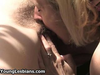 Horny housewife getting her unshaved